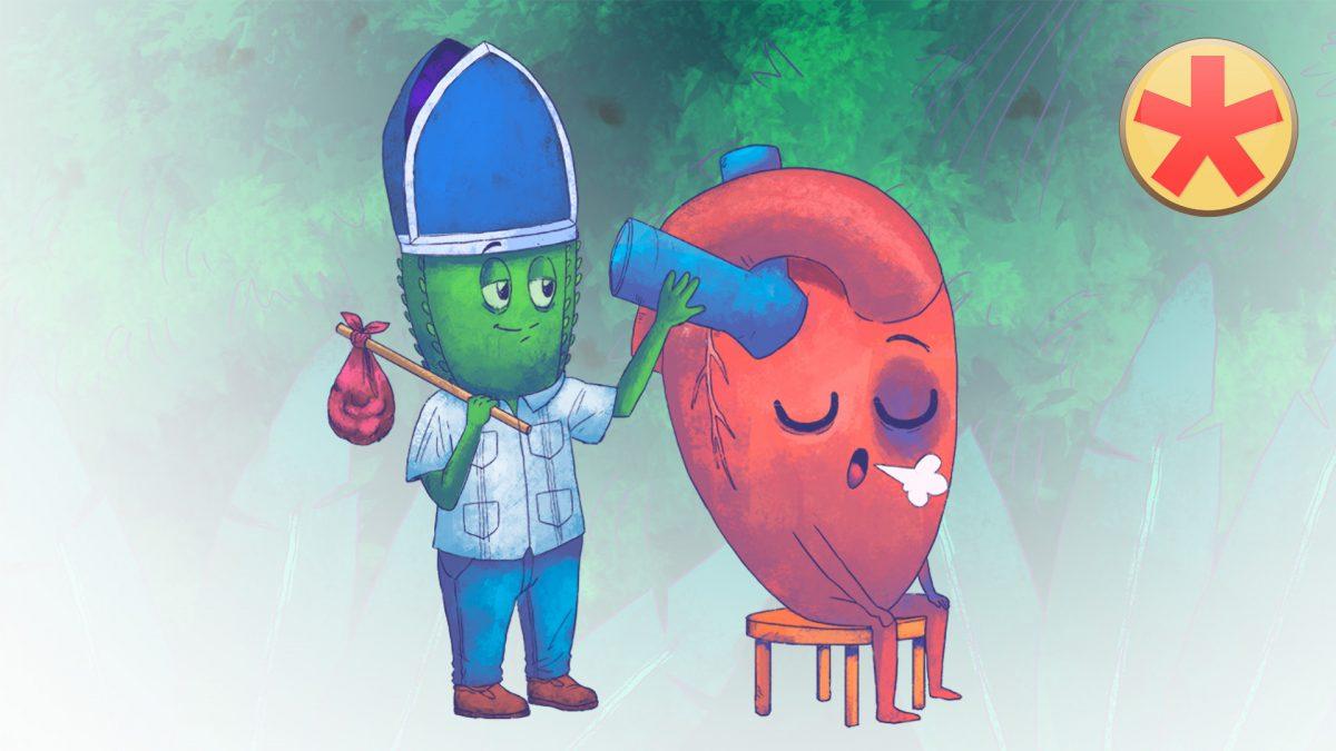 Vegetatives Nervensystem - Herz lernen mit den Eselsbrücken von Meditricks.de